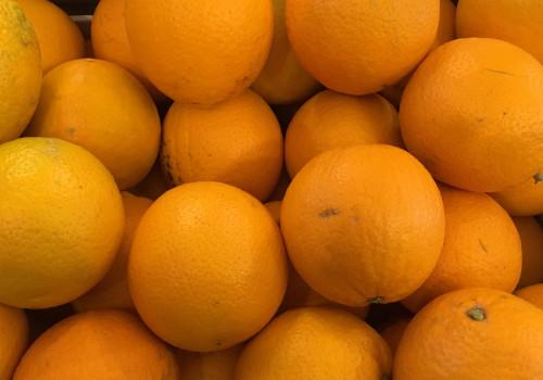 Orange de table BIO la pièce