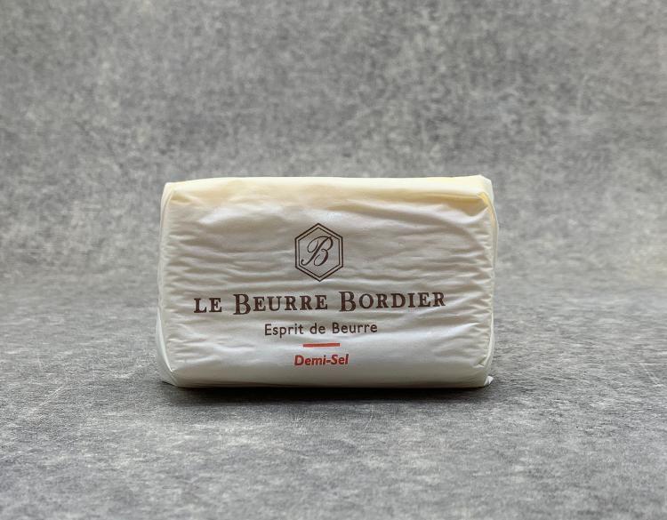 Beurre de baratte Bordier demi-sel 250gr