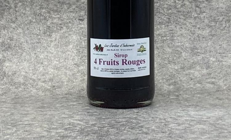 Sirop 4 Fruits rouges 50 cl