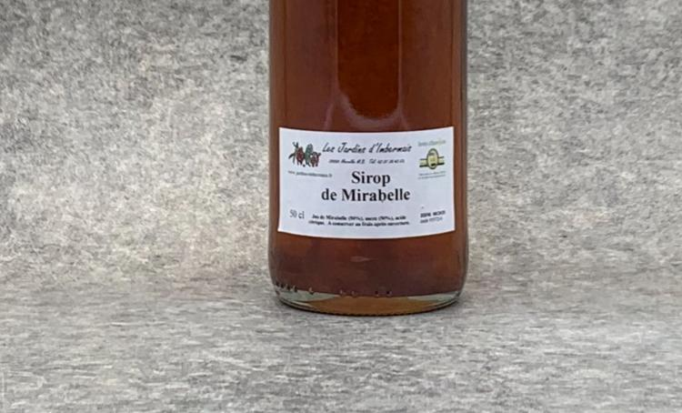 Sirop de Mirabelle 50 cl