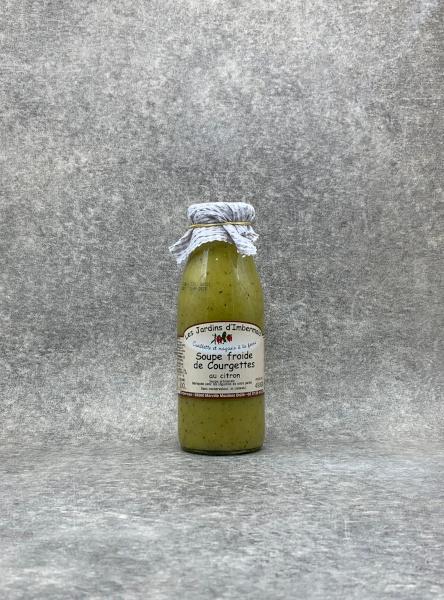 Soupe froide de Courgettes au citron 0,5 L