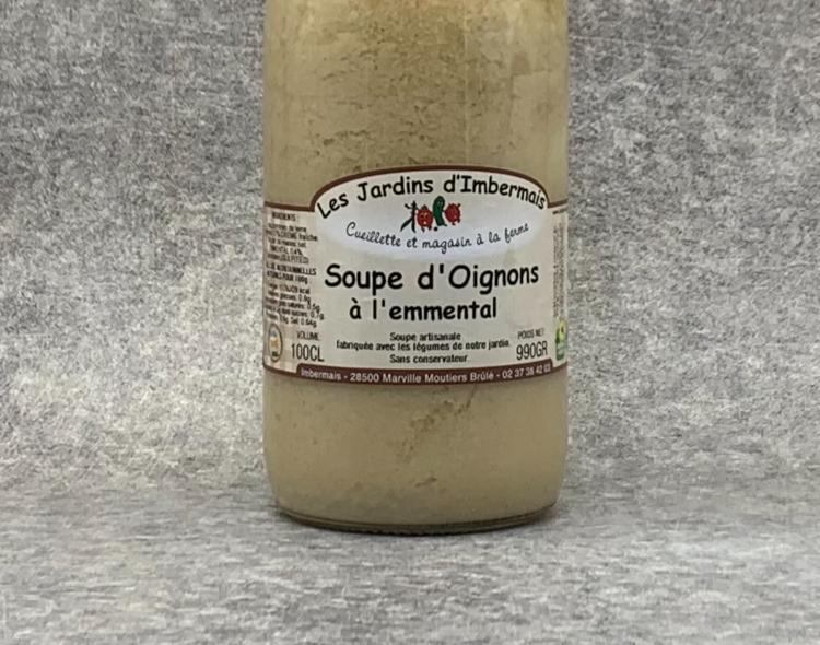 Soupe d'Oignons à l'Emmental 1 L