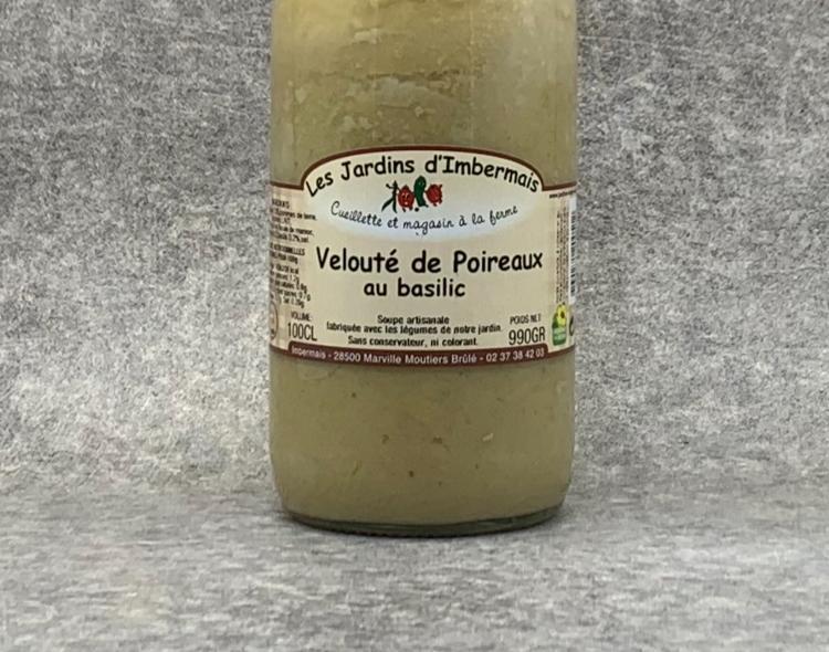 Velouté de Poireaux Pdt Basilic 1L