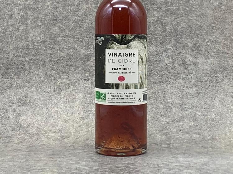 Vinaigre de cidre à la Framboise BIO 25 cl