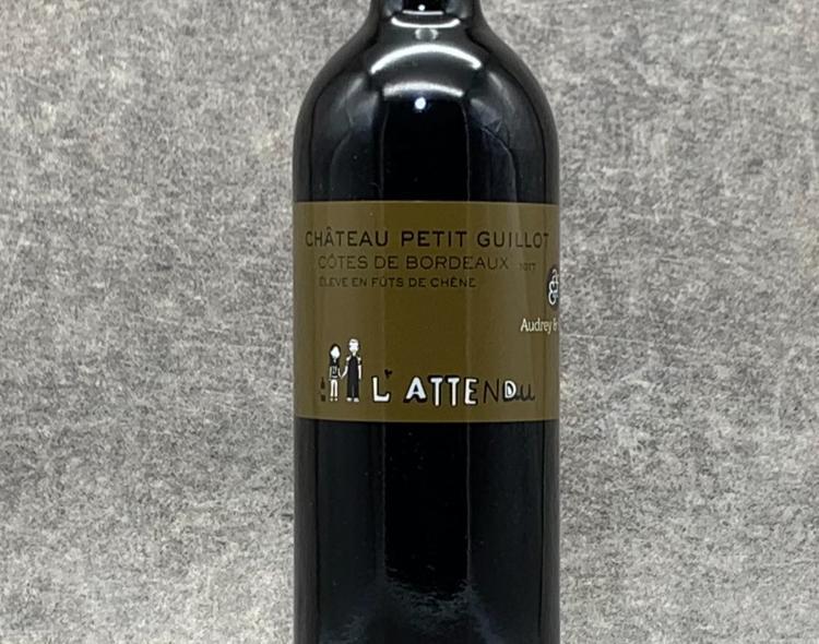 """Bordeaux Rouge """"L'Attendu"""" 75cl"""