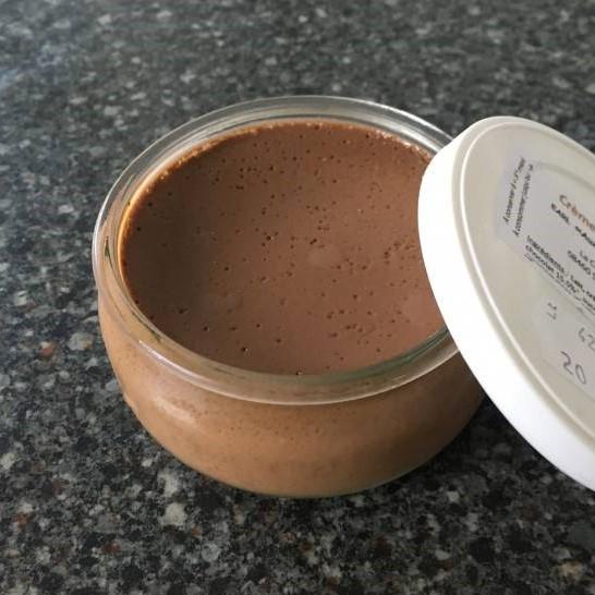 Crème dessert au chocolat au lait 100g