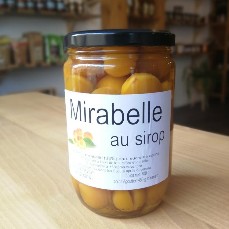 Mirabelles au sirop 700g
