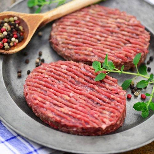 Steaks hachés par 2