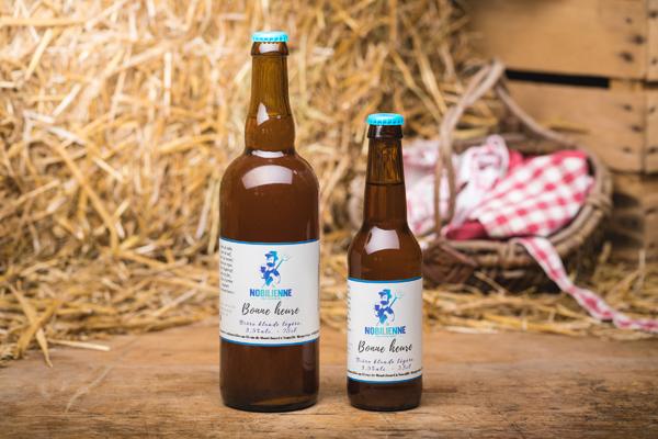 """Bière blonde """"Bonne Heure"""" - 3,5%"""