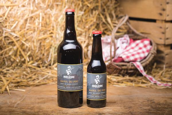 """Bière ambrée """"Raoul du Fou"""" - 6,5%"""