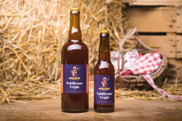 """Bière """"Nobilienne Triple"""" - 7,2%"""