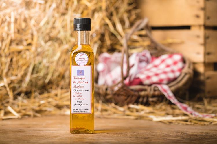 Vinaigre de Miel au Safran - 250 ml