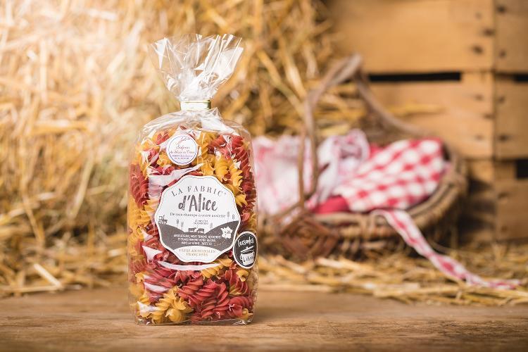 Pâtes Torsades Tomate / Safran - 250gr
