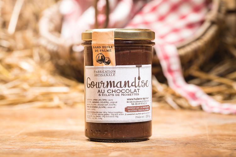 Gourmandise au chocolat - 225g