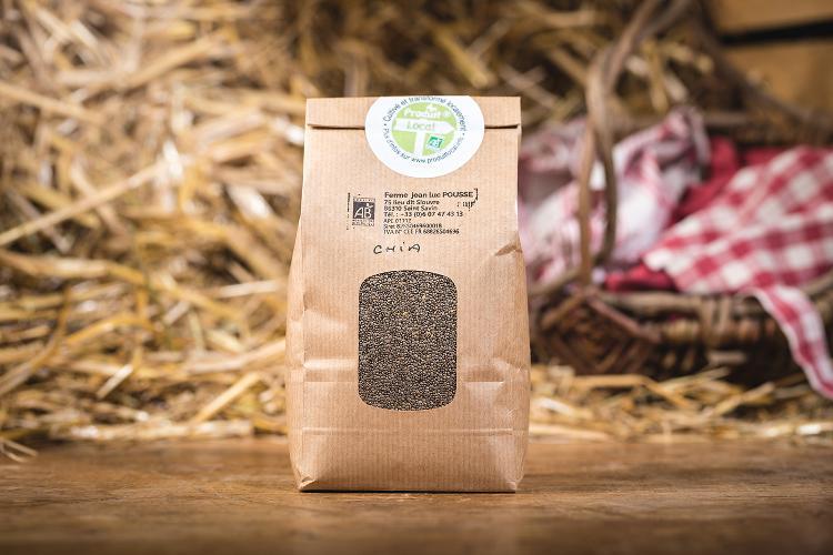 Graines de Chia /Super aliment - 500g