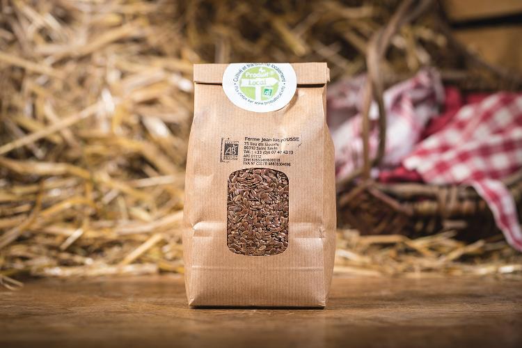 Graines de Lin brun / Super aliment - 500g