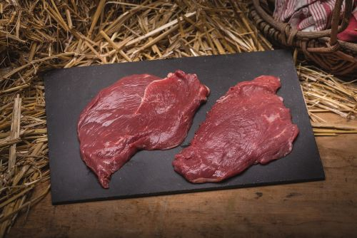 Steak de boeuf bio (*2) (entre 250g et 350g)