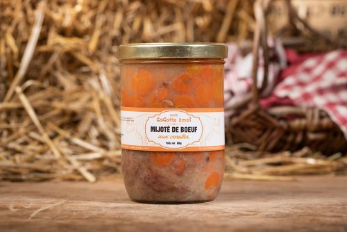 Mijoté de b½uf aux carottes bio