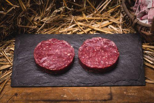 Steak haché de boeuf bio (*2) (entre 200g et 300g)