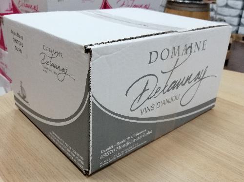 AOC Anjou Blanc Château du Pin 2018 - Delaunay (carton 6 bouteilles)