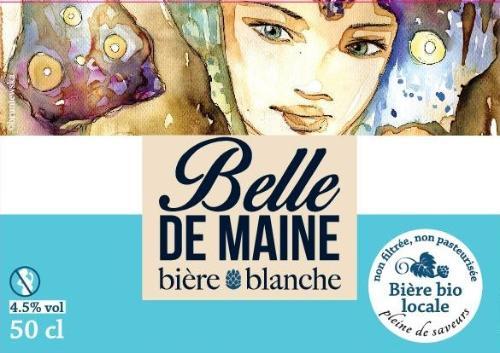Bière BLANCHE Belle de Maine