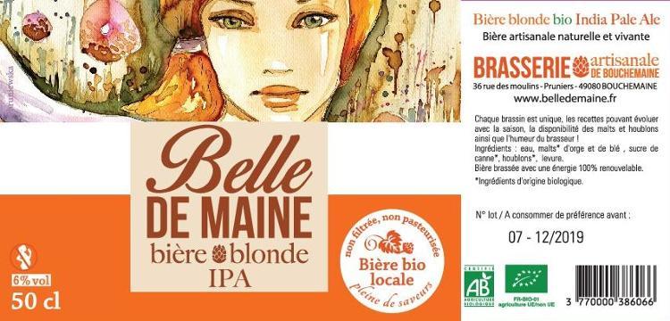 Bière IPA Belle de Maine