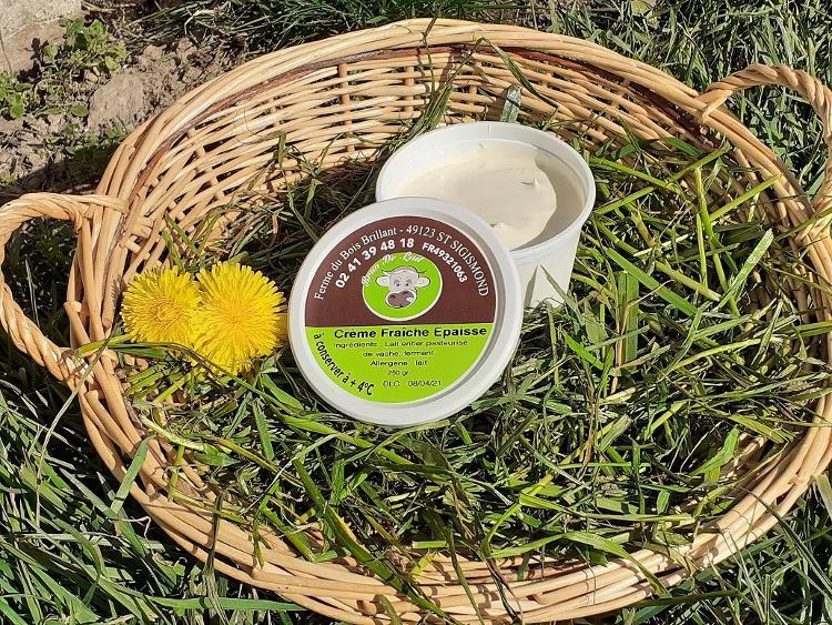 Crème fraîche  0.250 kg