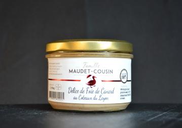 Délice de foie gras au coteaux du Layon 190g Famille MAUDET-COUSIN