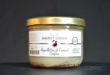 Aiguillettes de canard confites Famille MAUDET-COUSIN