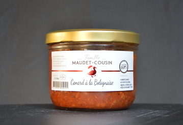 Canard à la bolognaise 350g Famille MAUDET-COUSIN