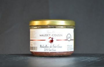 Médaillon de foie gras Famille MAUDET-COUSIN