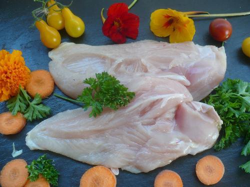 Filets de poulet (0.400 g à 0.500 g) lot 2 - Volailles ROMPILLON