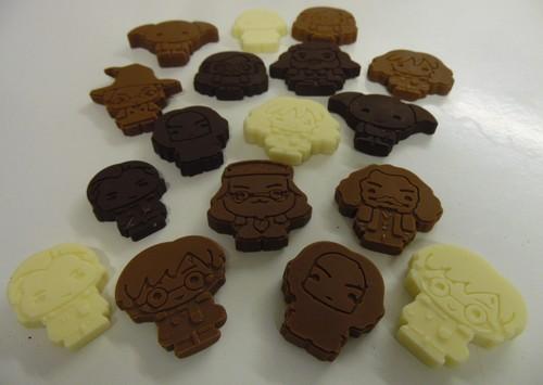Petits Sorciers En Chocolat