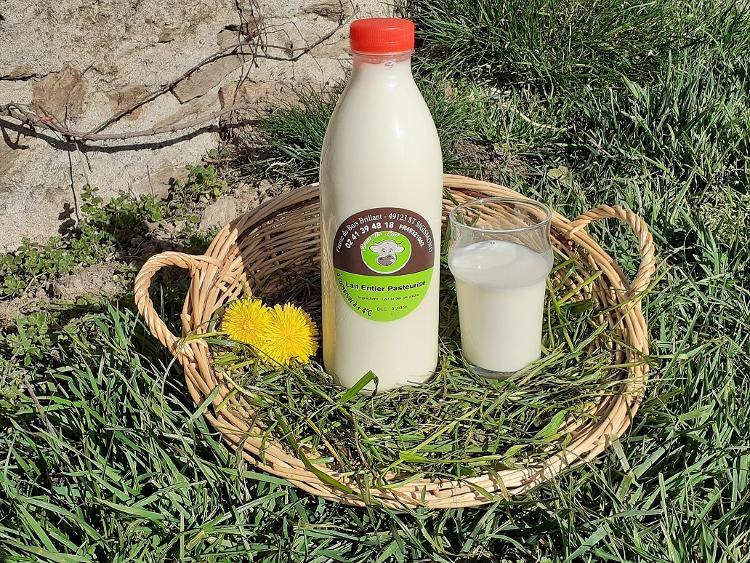 lait entier Pasteurisé 1 L