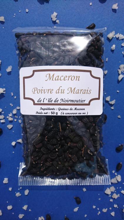 Maceron graines Poivre du Marais salant - 50 g