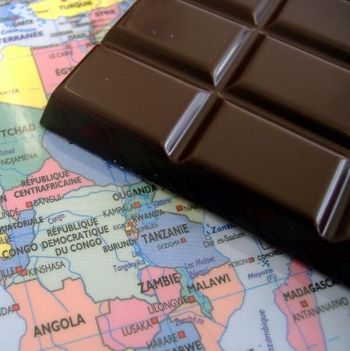 Tablette Chocolat Noir D'ouganda 80% De Cacao