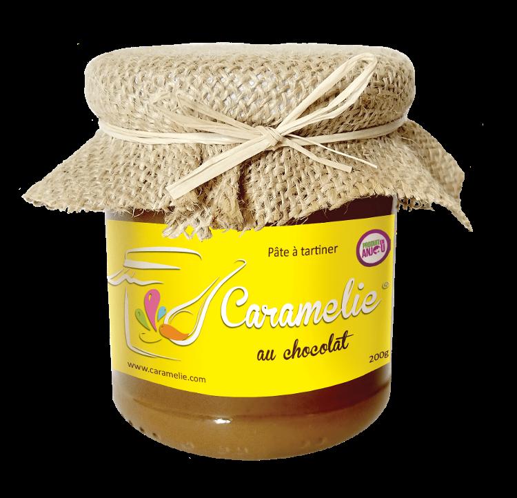 200g caramel beurre salé chocolat CARAMELIE