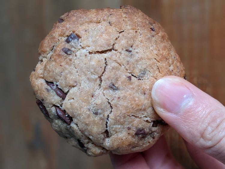Cookie vegan et sans gluten - sachet de 10