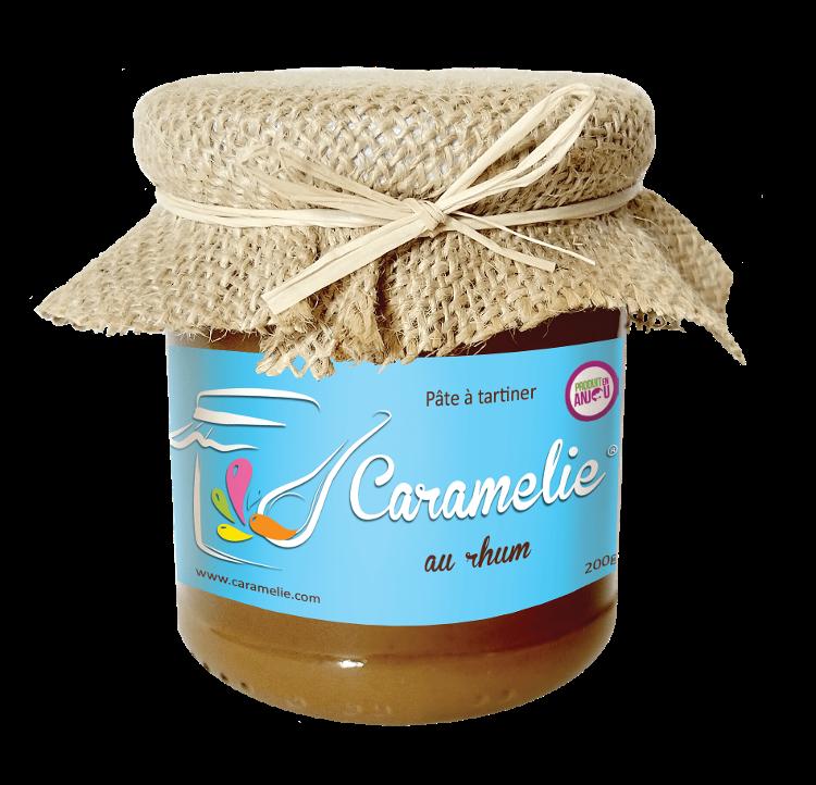 200g caramel beurre salé rhum CARAMELIE