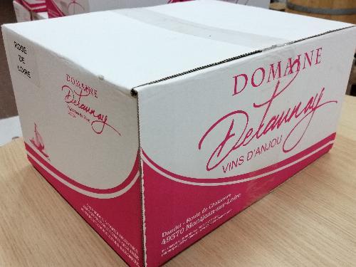 AOC Rosé de Loire 2020- Delaunay (carton 6 bouteilles)