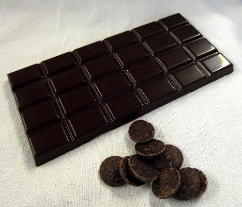 Tablette Chocolat Noir De Papouasie Ng 65% De Cacao