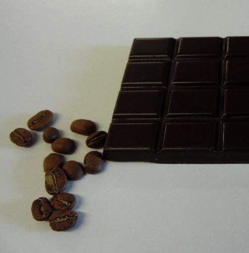 Tablette Chocolat Noir Au Café