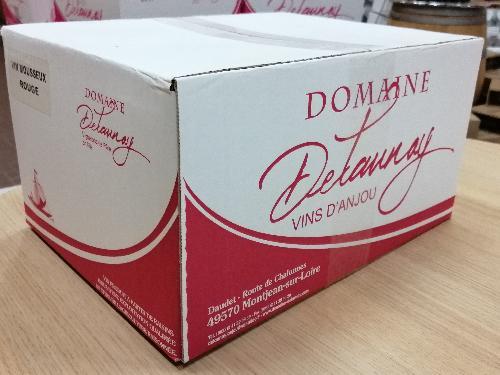 """Vin mousseux de qualité rouge Cuvée """"Gourmandise"""" - Delaunay (Carton de 6 bouteilles)"""