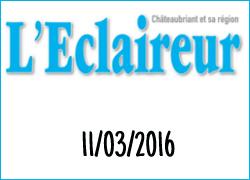 La Ferme Péard dans l'Eclaireur de Chateaubriand, mars 2016