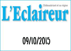 La Ferme Péard dans l'Eclaireur de Chateaubriand, octobre 2015
