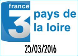 Interview de Jean-Michel sur France 3 Pays de la Loire