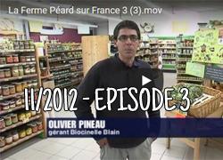 La ferme Péard sur France 3, épisode 3