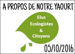 Les élu-e-s écologistes et citoyens de Nantes Métropole citent notre yaourt