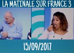 On parle de nous dans la Matinale sur France 3