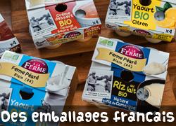 Des emballages 100% français
